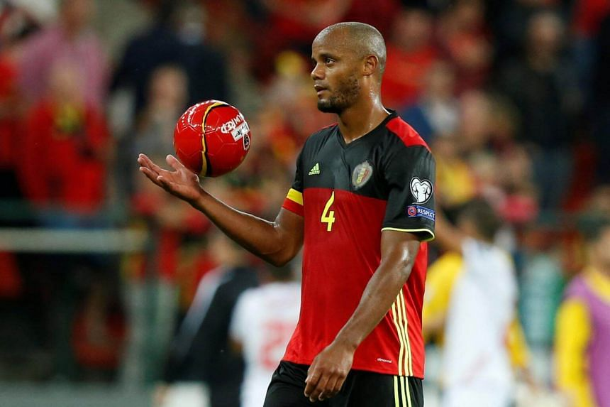 Vincent Kompany will miss the match due to a calf injury.