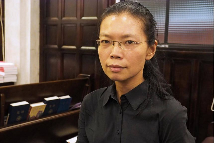 Ms Lee Ching-yu, Mr Lee's wife, was contacted this week by a man who said he was her husband's lawyer and who told her to come to the mainland for the trial.