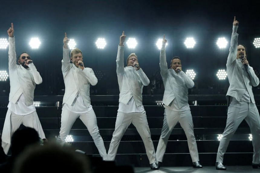 Most tickets to the Backstreet Boys concert sold out an hour after sales opened.