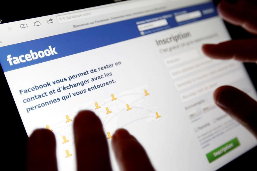 An illustration picture shows the log-on screen for Facebook is seen on an Ipad, in Bordeaux, France, on Jan 30, 2013.