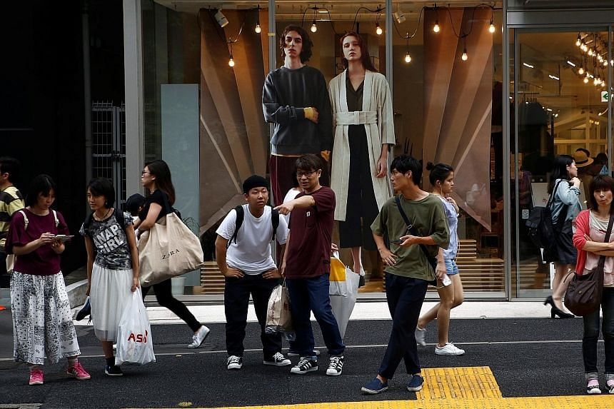 Private consumption, which makes up 60 per cent of Japan's gross domestic product growth, rose 0.8 per cent, roughly unchanged from the preliminary 0.9 per cent increase, the data showed.