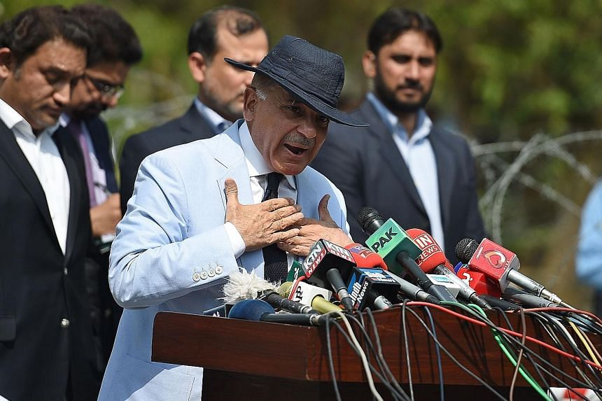 The ruling Pakistan Muslim League-Nawaz party chose to keep Mr Shehbaz Sharif as Punjab's chief minister instead of having him replace his brother Nawaz Sharif as prime minister after the latter was barred from office following a corruption probe int