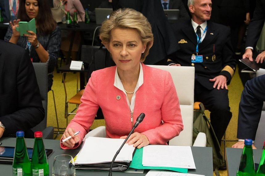 """German Defence Minister Ursula von der Leyen said the war games were a clear """"demonstration of capabilities and power of the Russians""""."""