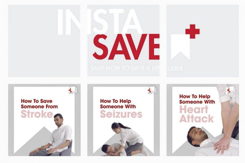 Called InstaSave, the outreach campaign features short clips on the six most common emergency situations here.