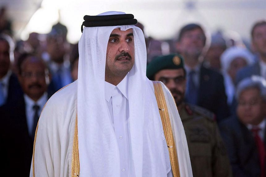 Qatar's emir, Sheikh Tamim bin Hamad Al-Thani (pictured), phoned Saudi Crown Prince Mohammed bin Salman to express interest in talks to resolve a three-month-old diplomatic crisis.