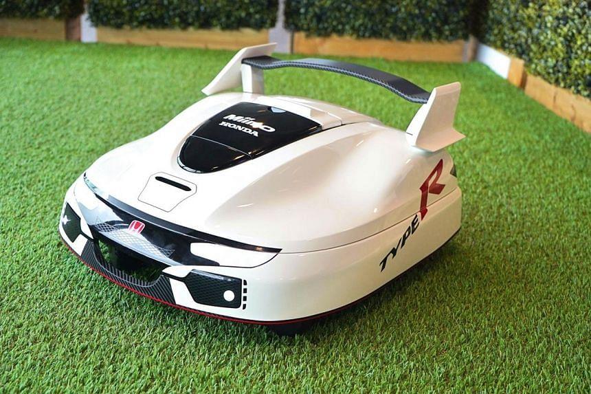 Honda Type R lawn mower.