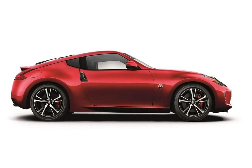 Refreshed Nissan coupe.