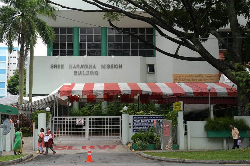 "Sree Narayana Mission Nursing Home in Yishun is Singapore's first 24/7 ""dementia go-to point""."