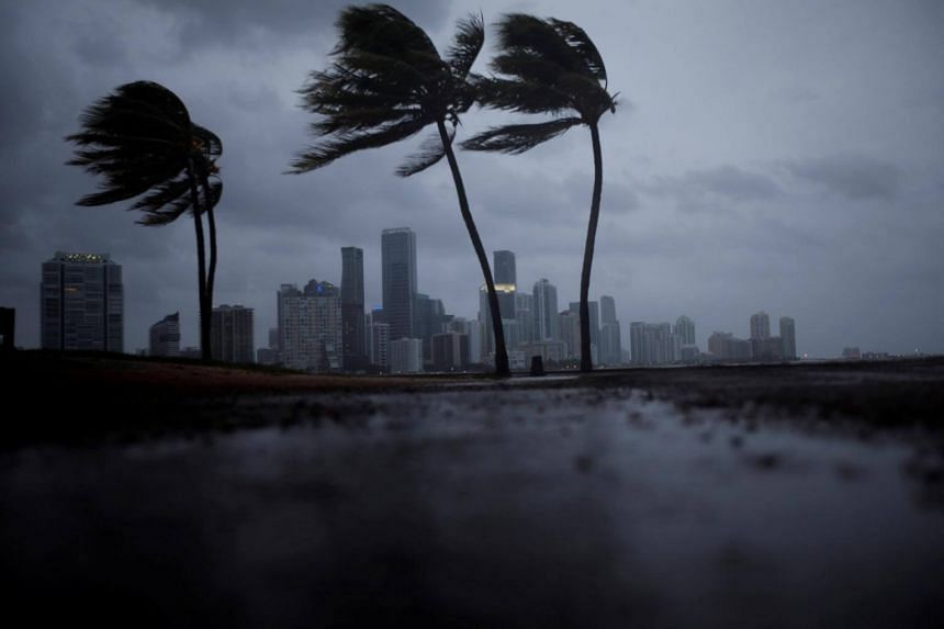 """Cuba's state meteorological service reported waves of up to seven meters on the northern coast. Irma was affecting the """"whole territory"""" of Cuba, it said."""