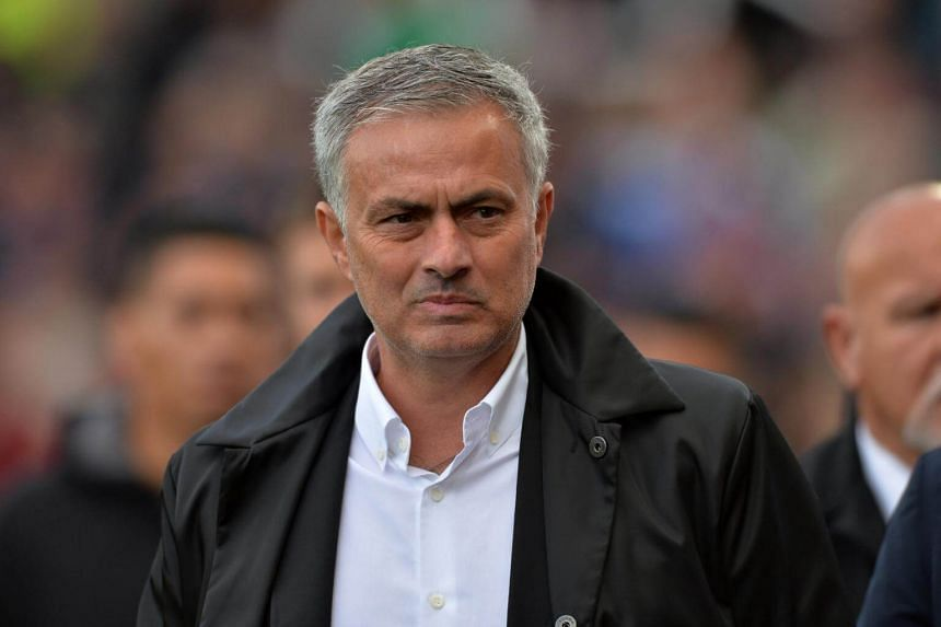 Manchester United manager Jose Mourinho before the Premier League match on Sept 9, 2017.
