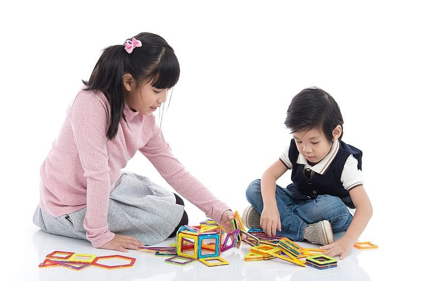 Being able to take care of younger siblings is one of the signs that a child is ready to stay home on her own.
