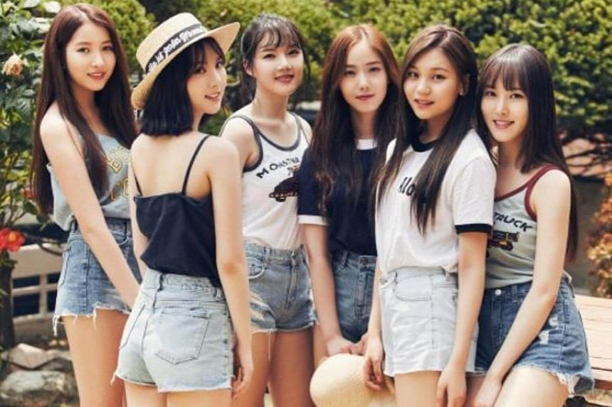 GFriend was on its way to Incheon Munhak Stadium for the 2017 Incheon K-pop Concert when its car hit the vehicle in front of it while changing lanes.