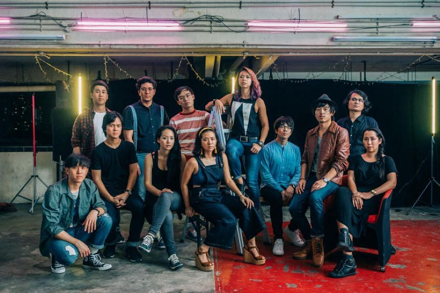 Some of the participating emerging and established musicians of The Great Singapore Replay.