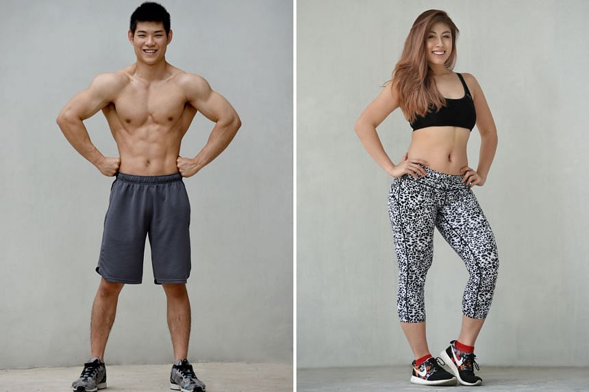 Aaron Koh, 22 (left) and Tish Wong, 23 (right)