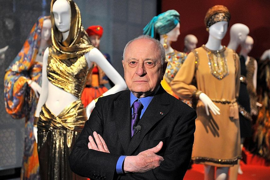 Pierre Berge was a regular presence on television talk shows and often tweeted his views on social issues.