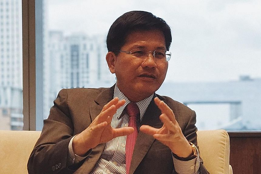 Mr Lin Chia-lung is seen as a potential candidate for the 2020 or 2024 presidential election. He is seeking re-election in next year's local polls.