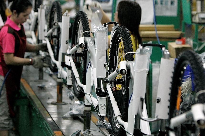 Taichung, which is three times the size of Singapore, is home to Giant Manufacturing, the world's largest bicycle maker by market value. The dream of Mayor Lin Chia-lung, who sees himself as the central Taiwan industrial city's chief salesman, is to