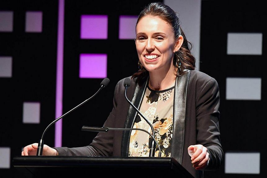 New Zealand's opposition Labour party leader, Jacinda Ardern, speaks during an event at the Te Papa Museum in Wellington, New Zealand on Aug 23, 2017.
