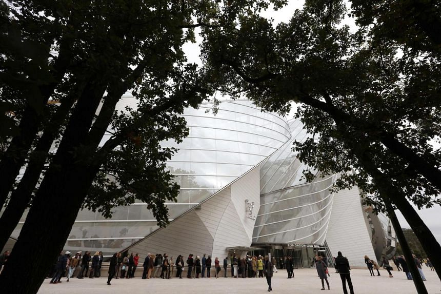 MoMA director Glenn Lowry welcomed the challenged of installing the exhibit in the Louis Vuitton Foundation's Frank Gehry-designed gallery.
