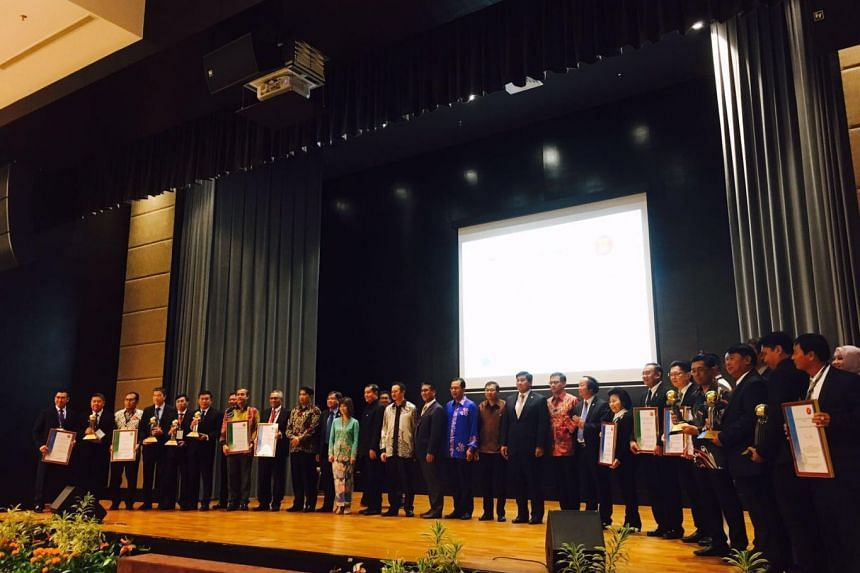 The 4th Asean Sustainable Cities Award held in Brunei on Tuesday (Sept 12).