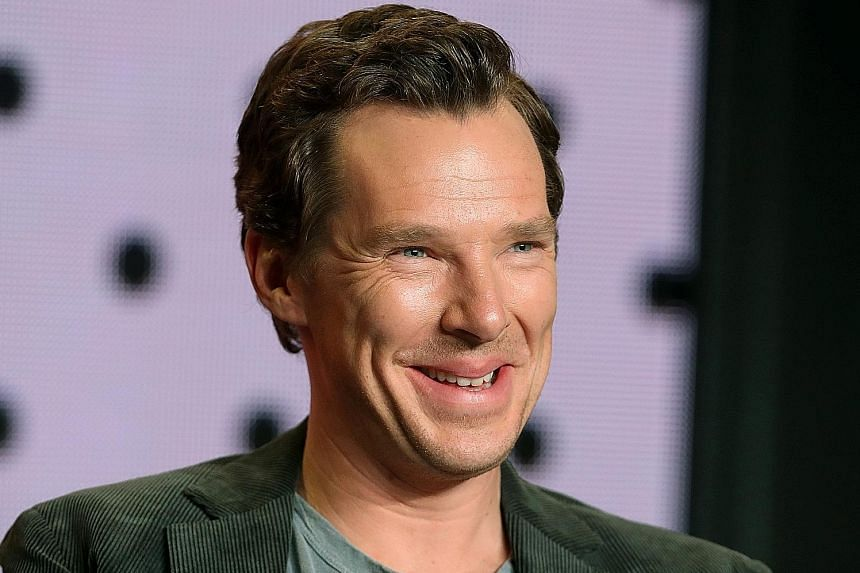 Actor Benedict Cumberbatch plays American inventor Thomas Edison in The Current War.