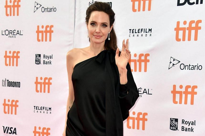 Angelina Jolie attends the First They Killed My Father premiere during the 2017 Toronto International Film Festival at Princess of Wales Theatre on Sept 11, 2017 in Toronto, Canada.
