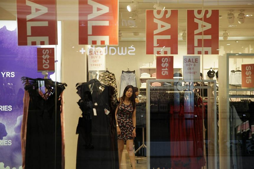 Data from the Department of Statistics showed that July retail sales grew 2.2 per cent year-on-year.