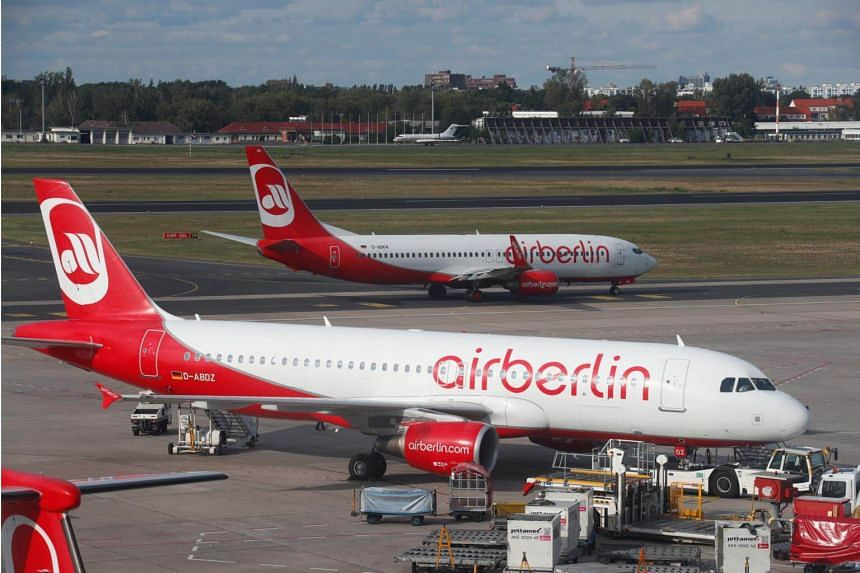 Both domestic and international flights were affected, including links between Berlin and Los Angeles or Dubai.