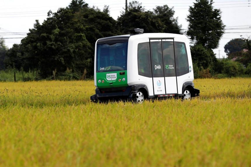 Japan could launch launch self-driving services for remote communities by 2020, if the trials begun this month prove successful.
