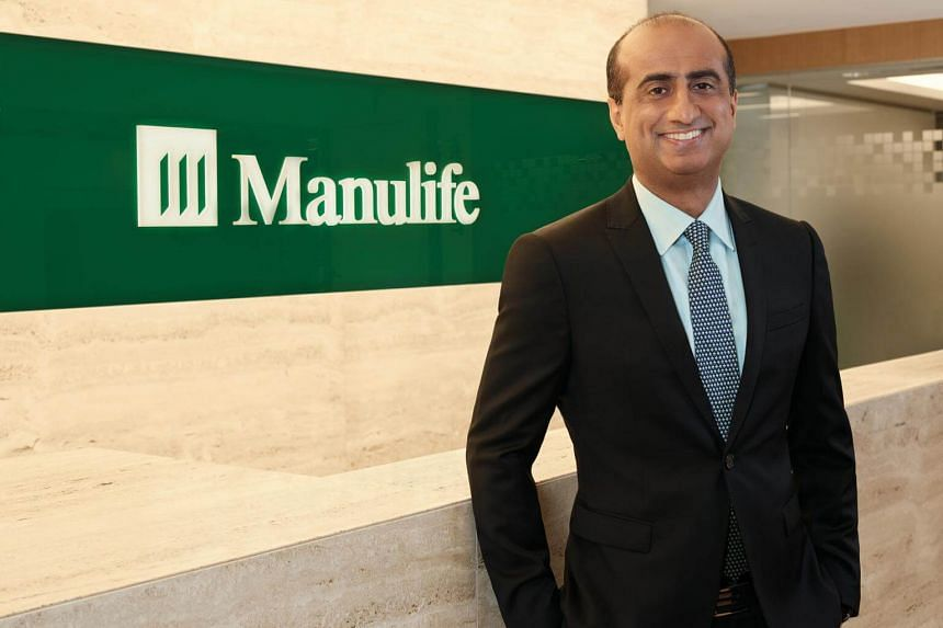 Naveed Irshad has been Manulife Singapore's chief executive since May 2014, and the Canadian has more than 20 years of industry experience.