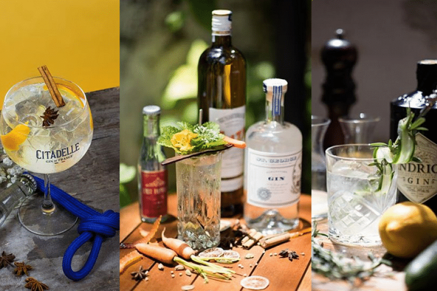 21 bars will be mixing up contenders for the best gin and tonic cocktail. PHOTO: THE STAR/ANN