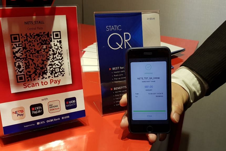 Nets will launch an e-wallet app in mid-October that will let users digitalise their ATM bankcards and make payment through their mobile phones by scanning a QR code or tapping their phones on the Nets terminal.