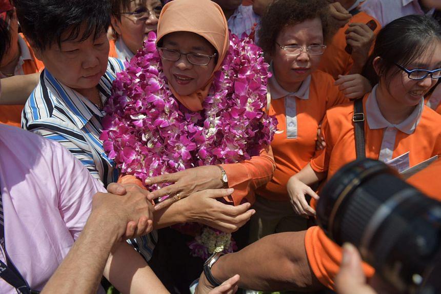 Madam Halimah Yacob is set to be Singapore's first woman president.