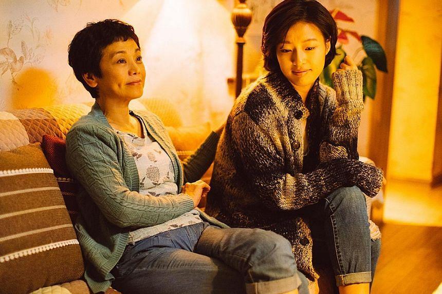 Sylvia Chang (far left) and Lang Yueting in Love Education.