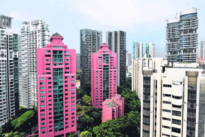 Resale prices of condos in the core central region and outlying areas month on month increased by 0.2 per cent and 1.6 per cent respectively, according to estimates.