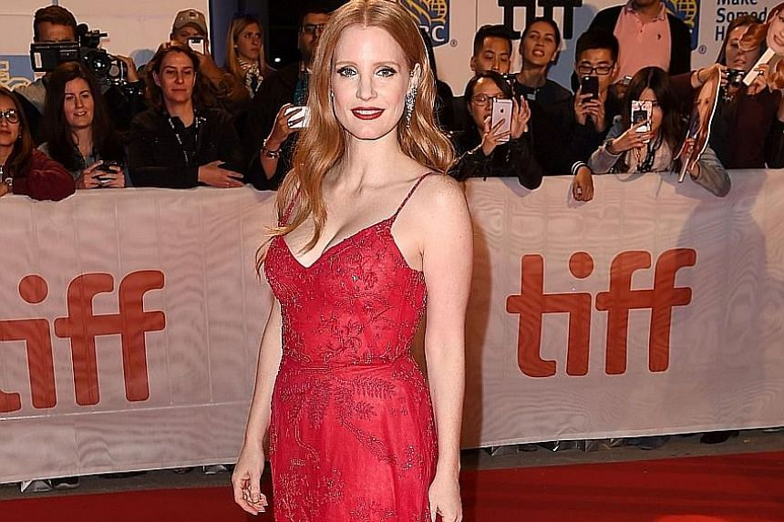 Actress Jessica Chastain works on at least one film a year with a female director.