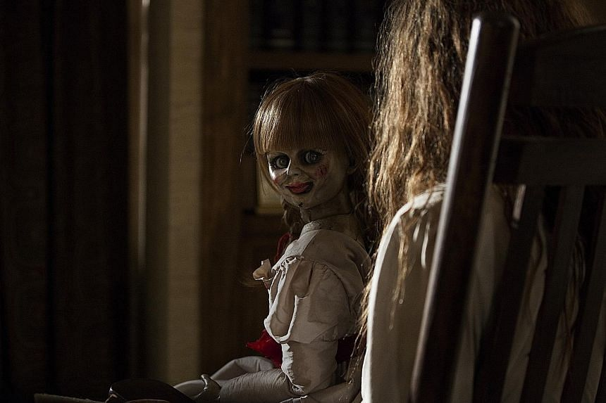 The Conjuring (above); Ju-On: The Grudge; Japanese horror classic Ring; and Shutter, starring Ananda Everingham.