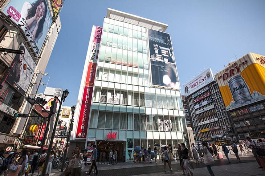 Croesus Shinsaibashi in Osaka, one of the Croesus Retail Trust's 11 malls in Japan.