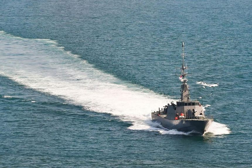 The Republic of Singapore Navy deployed patrol vessel RSS Fearless to assist with search and rescue efforts.