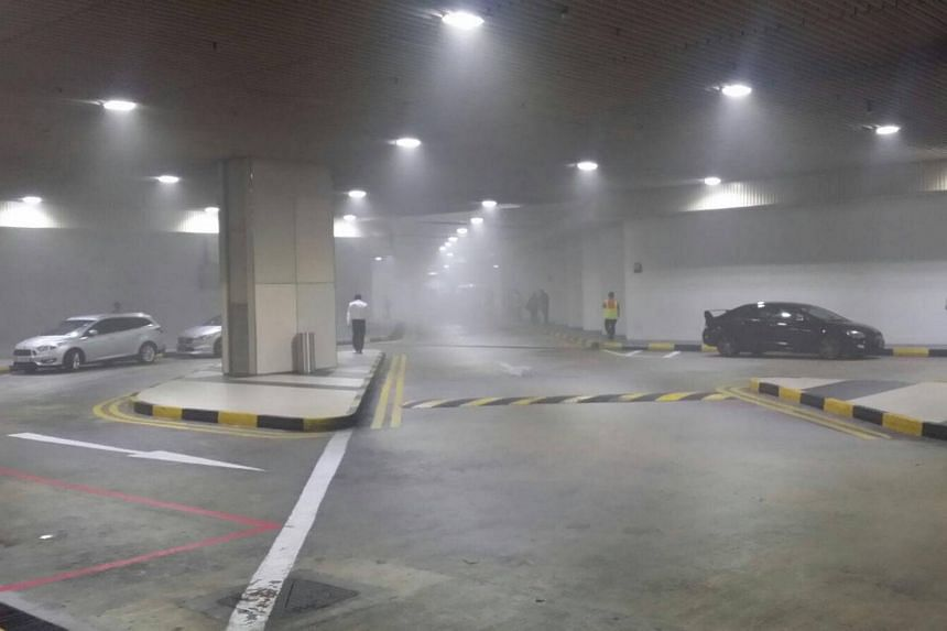 The Straits Times understands that the smoke that filled the basement of Changi Airport Terminal 2 on Wednesday afternoon originated from a paper shredder which was in a parked delivery van.