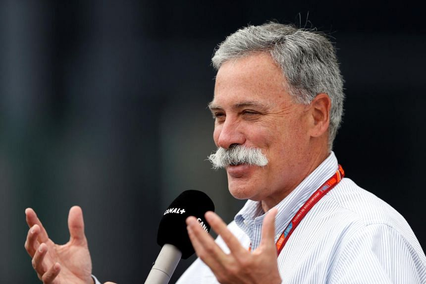 Formula One chief executive and chairman Chase Carey at the British Grand Prix on July 14, 2017.