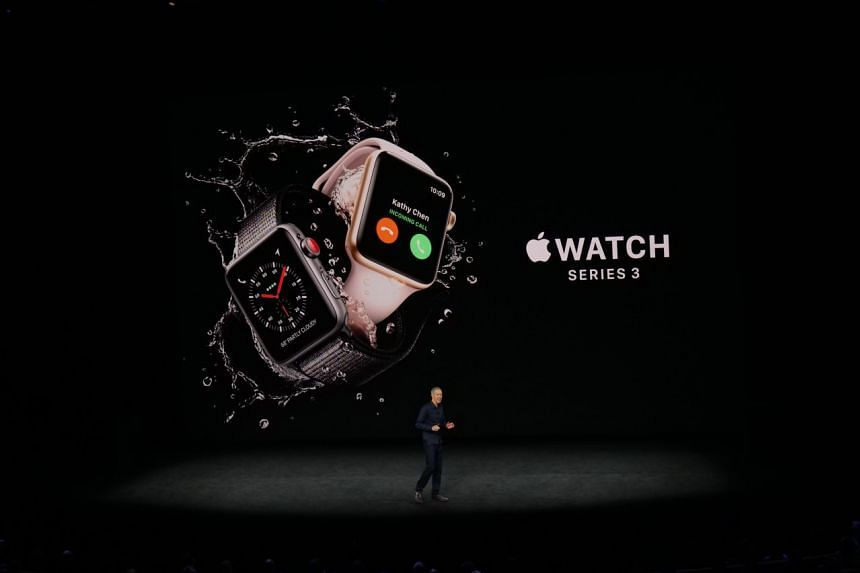 The Apple Watch Series 3 is announced.