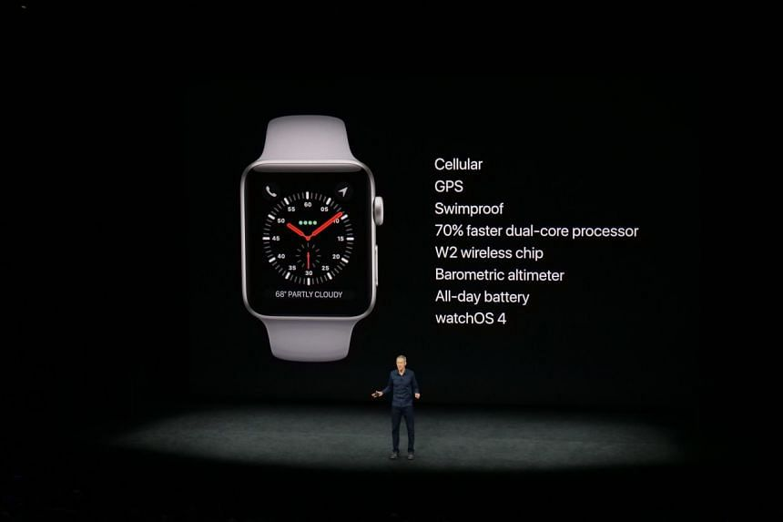 Apple COO Jeff Williams talking about Apple Watch Series 3.