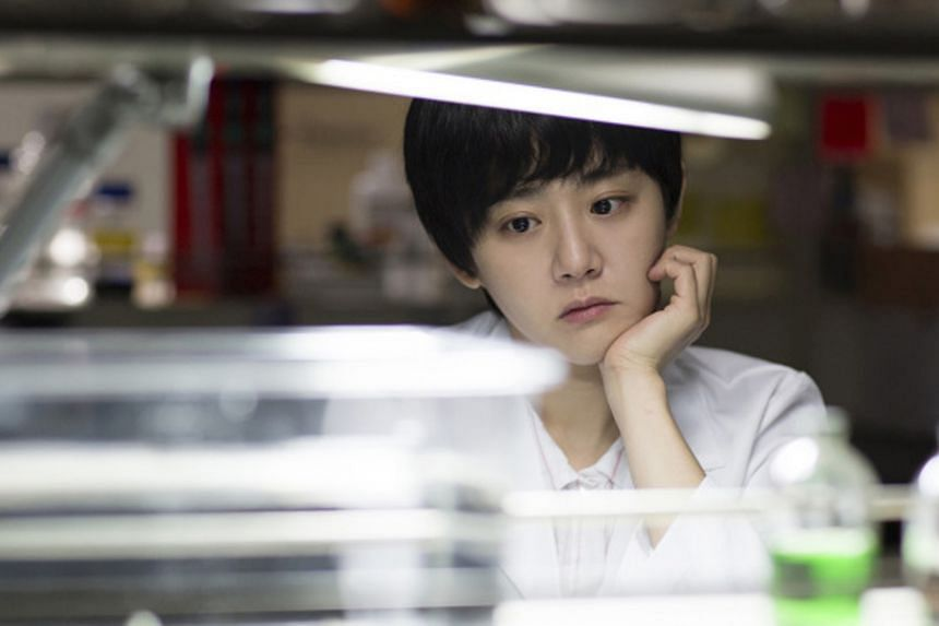Moon Geun Young (above) stars in Glass Garden.