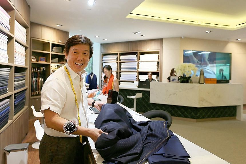 Mr Joseph Koh started Joe's Tailoring with $1,500 in 1983.