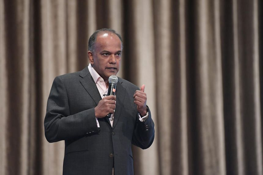 Home Affairs and Law Minister K. Shanmugam urged the community to continue working hard.