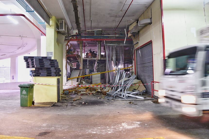 The industrial incident on Monday on the 11th floor of Enterprise Centre in Bukit Batok originated from a unit occupied by ZTP. The blast damaged a pipe which supplies gas to the 11th floor.