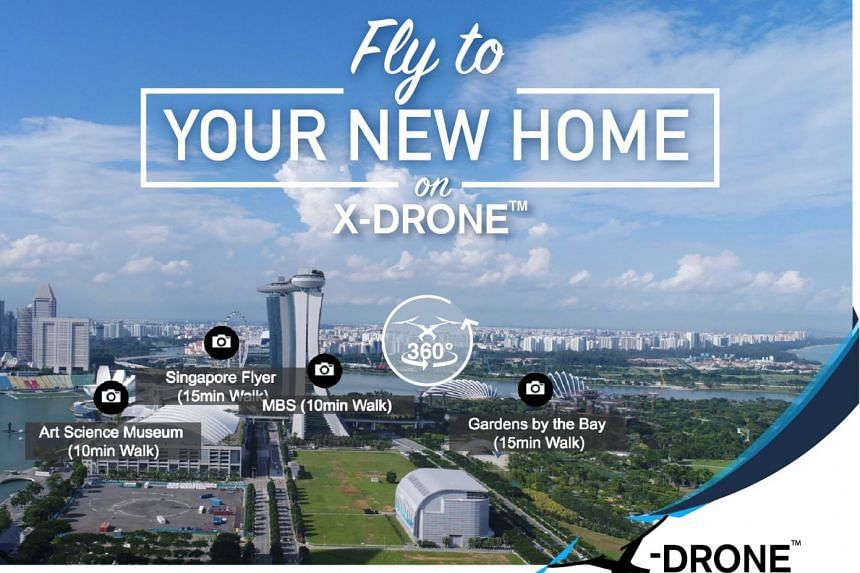 SRX Property is the first digital property platform in Singapore to use drones to take pictures of real estate.
