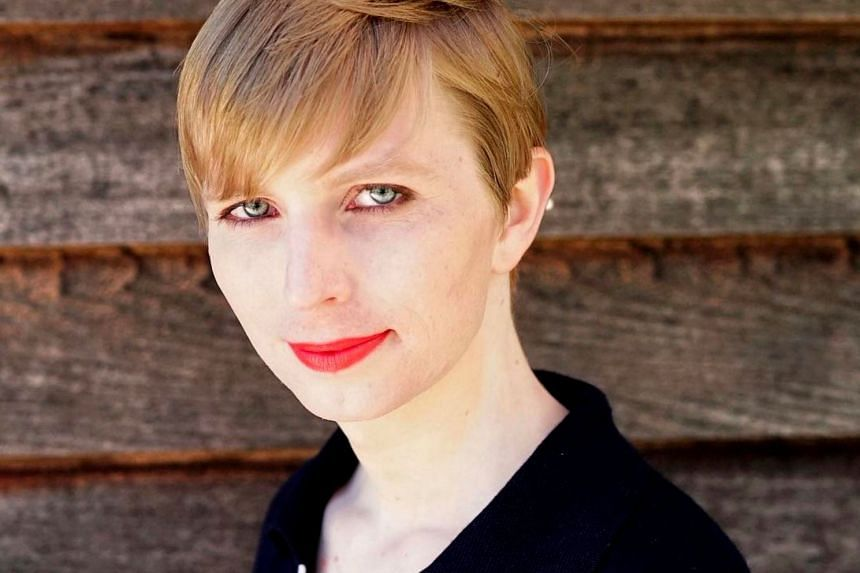 Ms Chelsea Manning, the transgender US Army soldier who was convicted of leaking classified data.