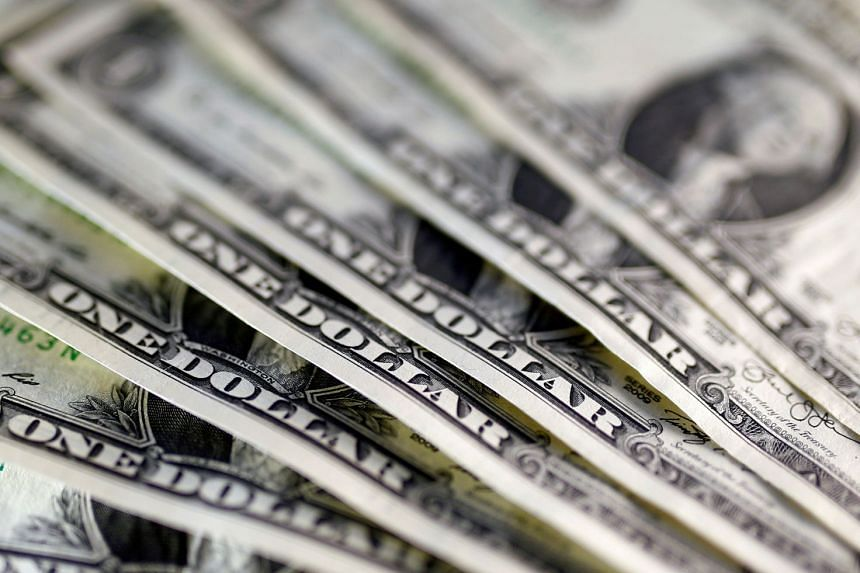 The US dollar sank over half a yen to as deep as 109.55 yen in a blink, before rebounding to 110.01.